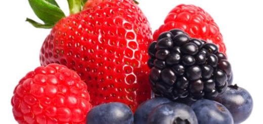 fruits rouge, frais, framboise, myrtille