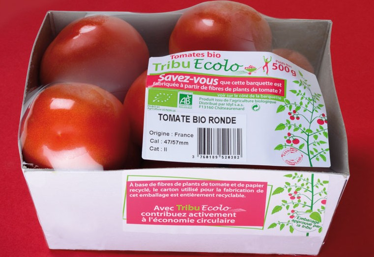 Idyl, Emballage, Fibres, Tomate, Tribu Écolo